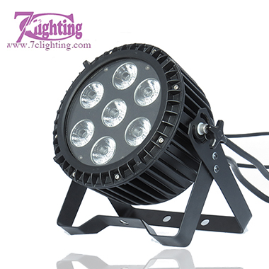 9x15W LED Flat PAR RGBWA IP65