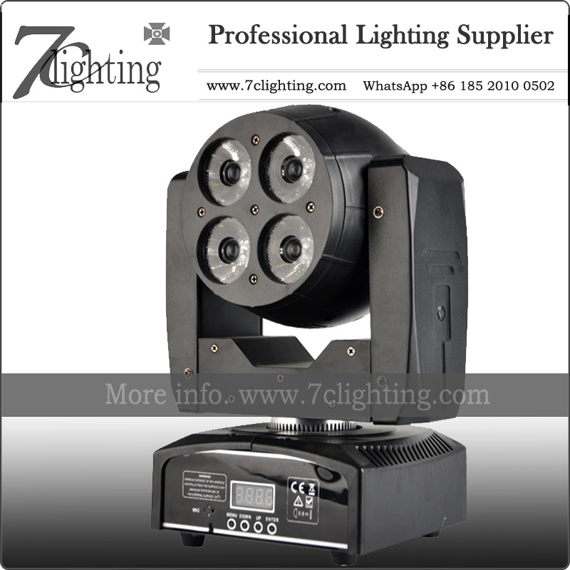 4x15W Beam Moving Head Double Face