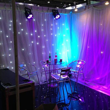 Customize Backdrop Curtain