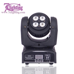 4x10W Wash Moving Head Double Face